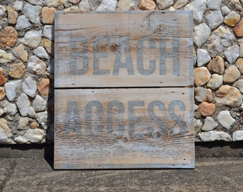 Beach Signs, Beach Wood Signs, Reclaimed Wood Signs, Beach House Signs, Beach House Decor, Cottage Chic Decor, Apartment Wall Decor
