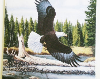 Majestic Eagle hunting mousepad