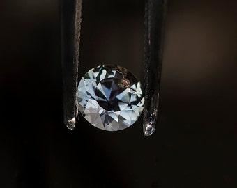 Sapphire Songea blue .50 carats 5.0mm Grade A