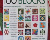 Quiltmaker's 100 Blocks Vol. 12 Personalized Copy