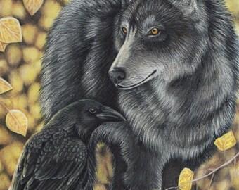 End of Autumn - 5 x 7 Fine Art Print - By Laura Airey Le