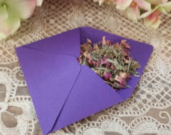 3 Psychic Awareness envelopes, Herbal Blend, Spells, Psychic Awareness, White Witch, Spell Craft