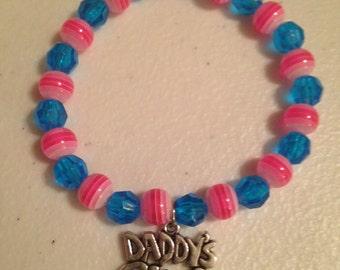 Daddy's Girl Charm Bracelet