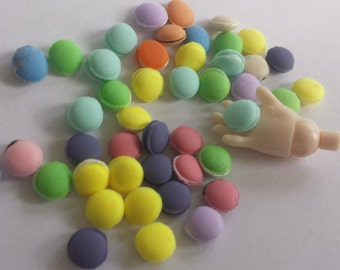Miniature Macarons - Dollhouse Food