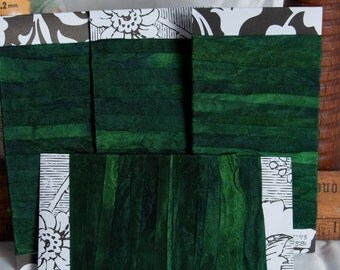 """Hand-dyed Rayon Seam-Binding, Blue-Green, 1/2"""", 5yds, Color and Light Fast"""
