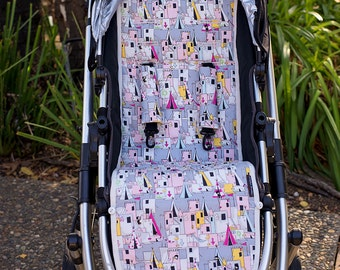 SALE Ready to ship reversible stroller liner pram liner Uppababy Vista UBV2