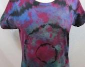 Tie Dye T-shirt Size Large Multi Color
