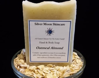 Oatmeal Almond Soap