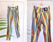 Vintage 1980s VERSACE statement jeans