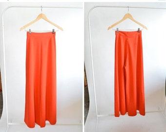 30% OFF STOREWIDE / Vintage 1970s highwaist PALAZZO pants