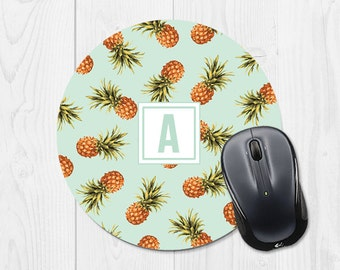 Mouse Pad Mousepad Pineapple Mouse Mat Office Supplies Office Desk Accessories School Supplies Dorm Decor Coworker Gift Cubicle Decor