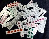 Grab bag / variety pack Toe nail / finger nail art / decals / stickers / pedicure Over 100 decals!
