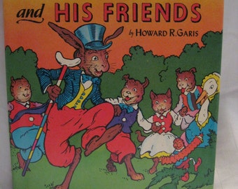 Vintage Uncle Wiggley and his friends- Private sale for Christine