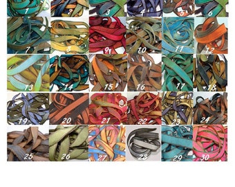 Silk Ribbon Hand Dyed Necklaces, Bracelets, Wrap Fabric, Wrap Anklet, Wrap Bracelet,
