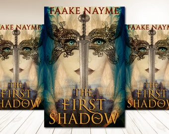 "Premade Digital Book eBook Cover Design ""The First Shadow"" Fiction Novel Young New Adult YA High Epic Fantasy"