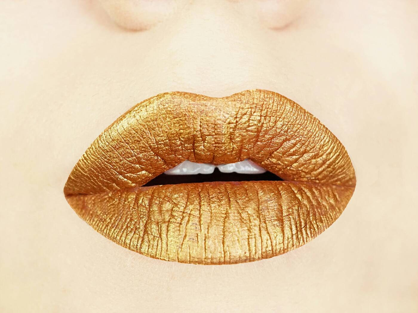 Metallic lipstick   Etsy