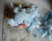 Elephant Stuffed Zoo Animal Safari Baby Shower Gift Jungle Nursery