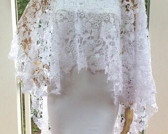 Bridal Bolero, Bridal Cape, Bridal Cover, Bridal Coverup, Bridal Shawl, Bridal Shrug, Bridal Cloak, Bridal Wrap, Bridal Top