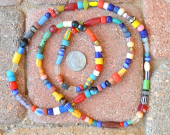 Mixed African Beads: Old & Newer