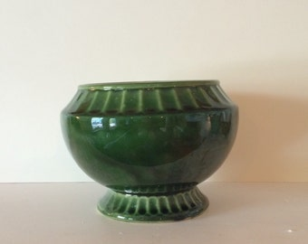 Green McCoy Planter Mid-Century Pottery