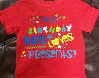 Childs Birthday Shirt