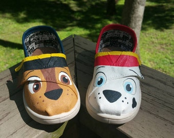 PAW Patrol-inspired Tom's flats for Kids