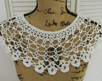 Vintage Crocheted Collar #5