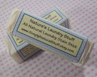All Natural Laundry Stain Remover Soap, Stain Stick Soap, Stain Remover, Stain Stick, Laundry soap, Stain remover soap, Natural Soap,