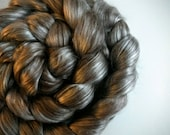Tibetan Yak/Cultivated Silk Roving - 4 oz