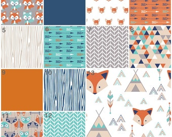 Crib Bedding Fox Baby Teepee Nursery