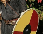 Viking shield with strap