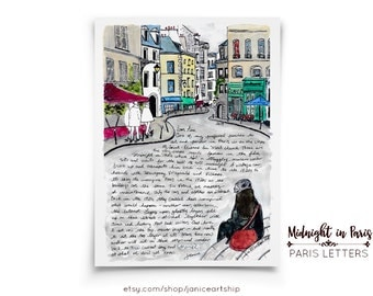 Midnight in Paris: Paris Letters, February, A letter about sitting on the steps used in the film Midnight in Paris