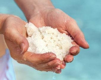 1 pound of BATH SOAK ~ Bath salts with Organic Oils Dead Sea Salt