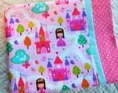 My Little Princess Childrens or Travel  Pillow Case