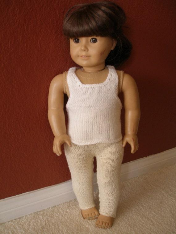 Camisole & Pantyhose Doll Knitting Pattern
