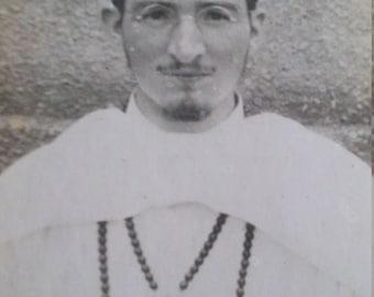 Vintage Priest Photograph