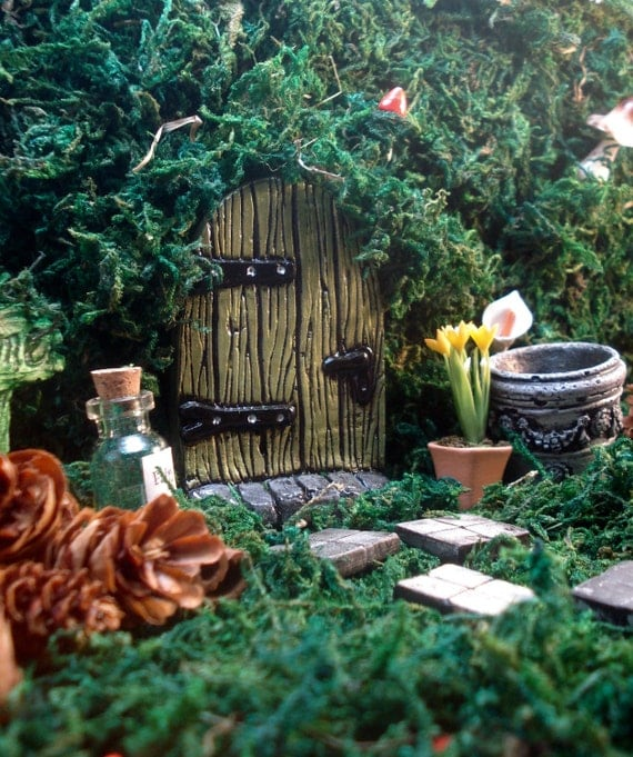 Fairy door kit, fairy garden kit, fairy doors and windows, gift ...