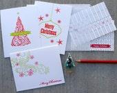 Holilday Sample Sale (English) - Set of 5 Letterpress Cards