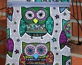 Handmade - Owl  - Sling Bag, Cross Body Bag, Hipster, Travel Bag - Hands free