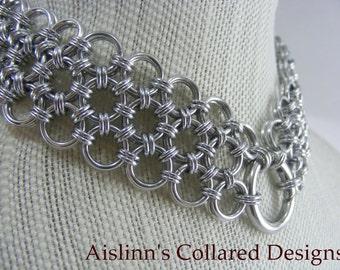Japanese BDSM Gorean Slave Collar Choker Necklace
