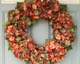 Fall Wreath Fall Autumn Wreath Wreath for Fall