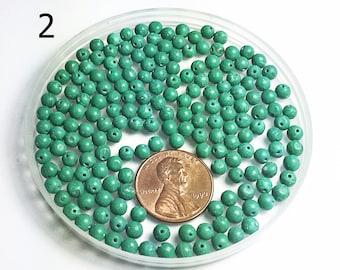 Malachite beads-#2