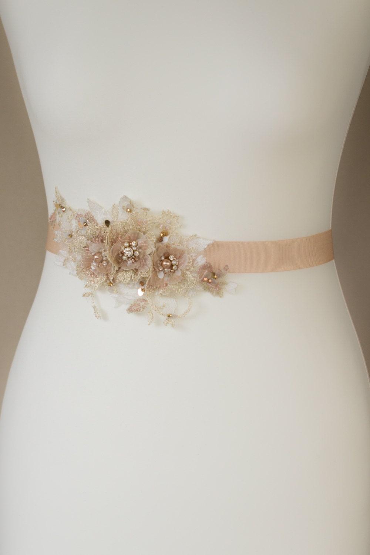 wedding dress sash wedding belt gold sashes belts lace