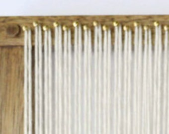 weaving loom how to finish