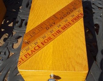 Vintage Mens Watch Box