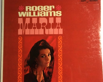 SEALED ROGER WILLIAMS Maria Lp 1962 Vinyl Record Album Mint