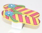 Flip Flop Napkin Rings Set of 6