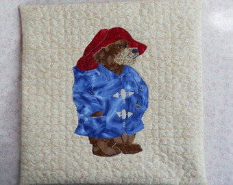 Paddington Bear Pillow in His Raincoat