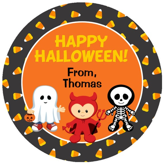 like this item - Happy Halloween Stickers