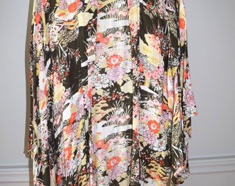 Floral Chinoiserie Caftan